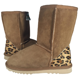 Classic 3/4 with Animal Print Ugg Boots