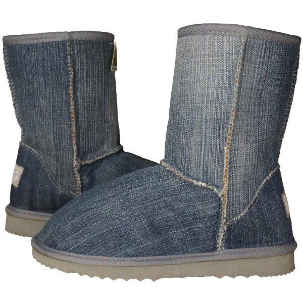 Denim 3/4 Ugg Boots
